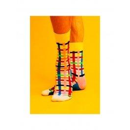 Носки Happy Socks OU10-001 в полоску