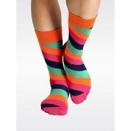 Носки Happy Socks PO11-003 в полоску