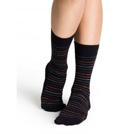 Носки Happy Socks SB11-003 в тонкую полоску