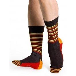 Носки Happy Socks SH11-004 в полоску