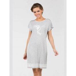 Сорочка NicClub Fantasia 1502 с принтом женская