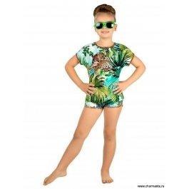 Купить футболка детская для девочек 0216 safari CHARMANTE GF 021611 AF Savanna