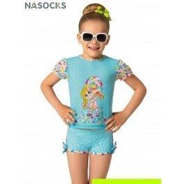 Купить пляжный комплект для девочек (футболка+шорты) 0915 dolce vita CHARMANTE GFX091507 Chupa-chups