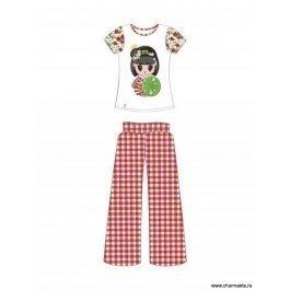 Купить пляжный комплект для девочек (брюки+топ) 0215 cherry princess CHARMANTE GHC 021509 AF Carina