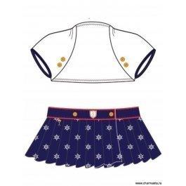 Купить пляжный комплект для девочек (болеро + юбка) 0415 regatta's star CHARMANTE GHN 041506 AF Ricca