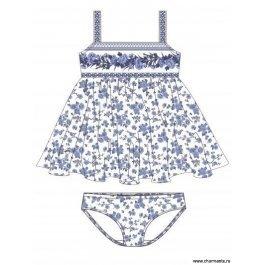 Купить пляжный комплект для девочек (платье+плавки) 0115 snow queen CHARMANTE GPQ 011504 AF Sheila