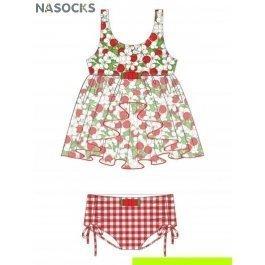 Купить пляжный комплект для девочек (топ+плавки) 0215 cherry princess CHARMANTE GPQ 021501 AF Celina