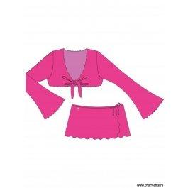Купить костюм пляжный для девочек 0114 af nymph CHARMANTE GT/GN 011405A AF Nonne