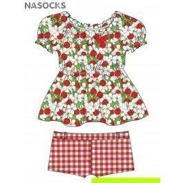 Купить пляжный комплект для девочек (топ+ шорты) 0215 cherry princess CHARMANTE GTX 021510 AF Caroline