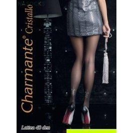 Купить колготки женские со стразами стразы CHARMANTE LATTEA 40
