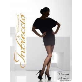 Купить колготки женские классические с шортиками intreccio  15 den CHARMANTE PRIMA 15
