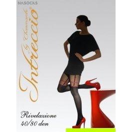 Купить колготки женские фантазийные intreccio  80 den CHARMANTE RIVELAZIONE 40/80