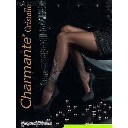 Купить колготки женские со стразами стразы CHARMANTE VESPERO 40