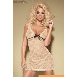Купить к-т (сорочка  + стринг) Obsessive Caramella chemise