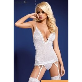 Купить корсет + стринг Obsessive Diamond corset