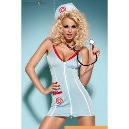 Купить платье+стринги Obsessive Doctor Dress