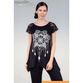 Купить футболка жен. NicClub India 1601