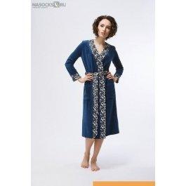 Купить халат длинный NicClub Chiamare 1404