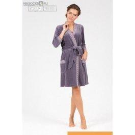 Купить халат средней длины NicClub Dolce 1602