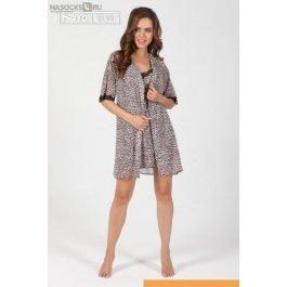 Купить халат-кимоно NicClub Leopardo 1504
