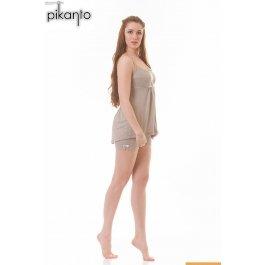 Купить пижама д/девочки PIKANTO Шоколад 80-033