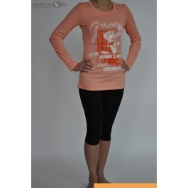 Купить футболка жен. с дл.рук. LIANA 211340-1RU