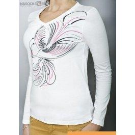 Купить футболка жен. с дл.рук. LIANA 211420-1RU