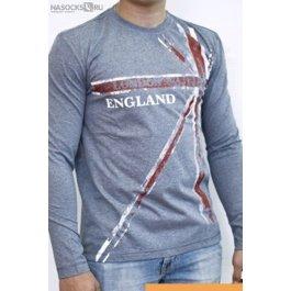 Купить футболка муж. с дл.рук. LIANA 111401-1RU
