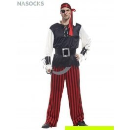 Купить костюм карнавальный для мужчин (Пират-одноглазый) Charmante MCH-1040
