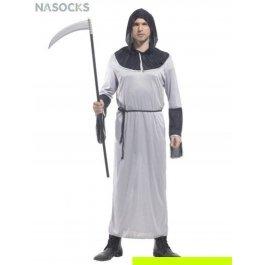 Купить костюм карнавальный для мужчин (Смерть с косой в белом) Charmante MCH-1042