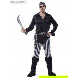 Купить костюм карнавальный для мужчин (Пират в черном) Charmante MCH-1054