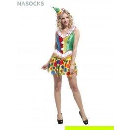 Купить костюм карнавальный для женщин (Клоун) Charmante WCH-1026