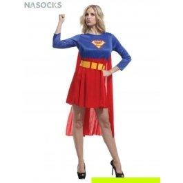 Купить костюм карнавальный для женщин (Суперменша) Charmante WCH-1053