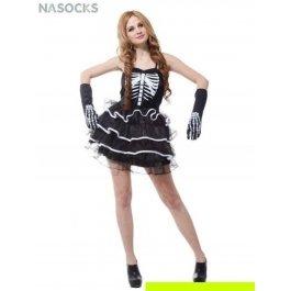 Купить костюм карнавальный для женщин (Скелет) Charmante WCH-1134