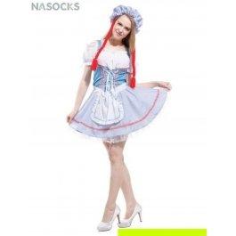 Купить костюм карнавальный для женщин (Костюм куклы с косичками) Charmante WCH-1149
