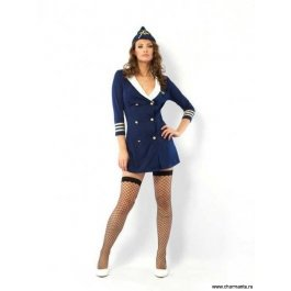 Купить комплект женский (Платье, головной убор, стринги, чулки) Charmante e1270