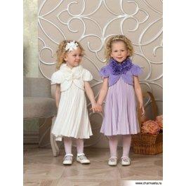 Купить комплект для девочек (платье, болеро) Charmante PRAk061601A