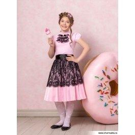 Купить комплект для девочек (топ, юбка) Charmante PRGk061615В