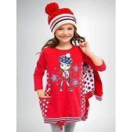 Платье PELICAN GDJ359 для девочек от 1 до 5 лет, в спортивном стиле
