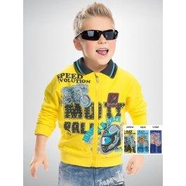 Джемпер PELICAN BJXP337 для мальчиков 1-5 лет, в спортивном стиле