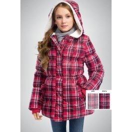 Куртка PELICAN GZWK4012 для девочек 6-11 лет, с капюшоном-воротником