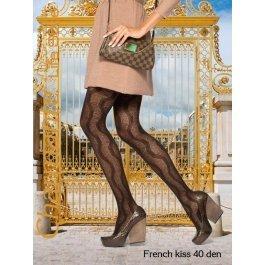 Колготки Charmante FRENCH KISS 40 женские с рисунком