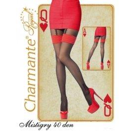 Колготки Charmante MISTIGRY 40 женские имитация чулок