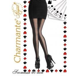 Колготки Charmante SCOMESSA 60 женские с имитацией шнуровки
