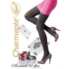 Колготки Charmante AZZARDO 80 женские с рисунком
