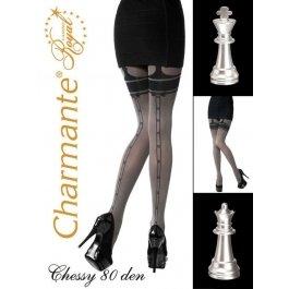 Колготки Charmante CHESSY 80 женские имитация чулок