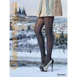 Колготки Charmante SNOWY женские с рисунком